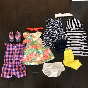 6 month baby girl summer ready pack